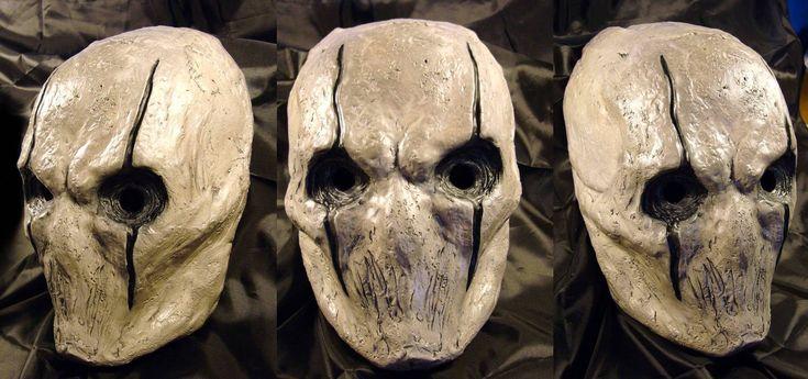 .: Masks White, Masks Ideas, Deviantart, Originals Mo, Horror Masks, Garo, Skull Shoulder, Masks Helmets, Scary Masks