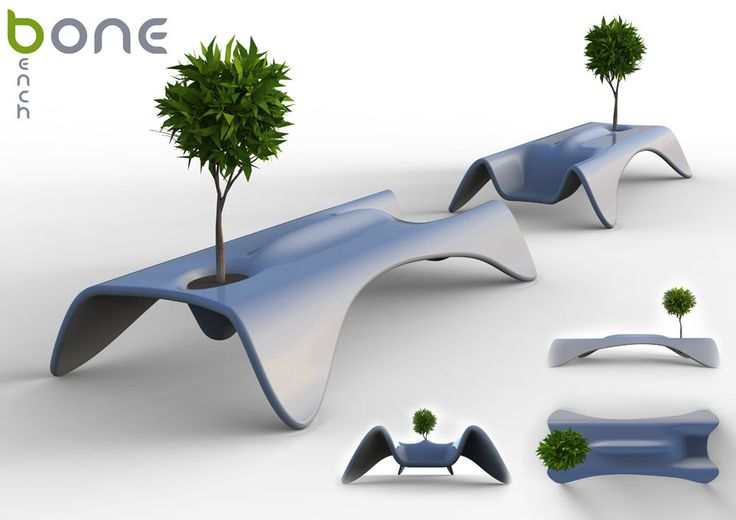 Bone Bench for Athens benchmark by some design lab