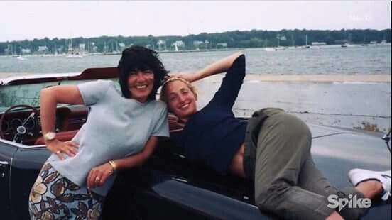 Carolyn with Christina Amanpour