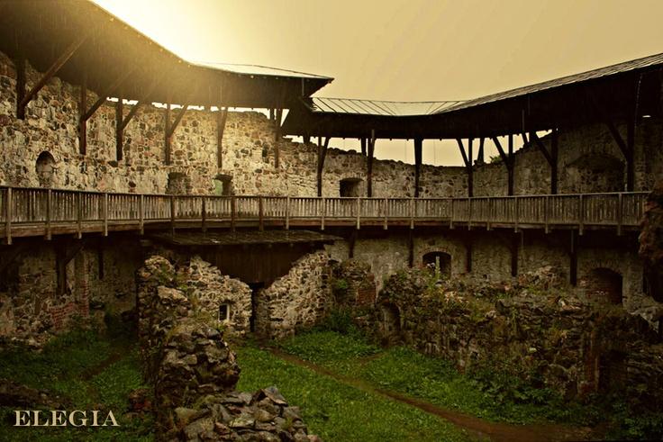 Raseborg Castle Ruins in Raseborg, Finland