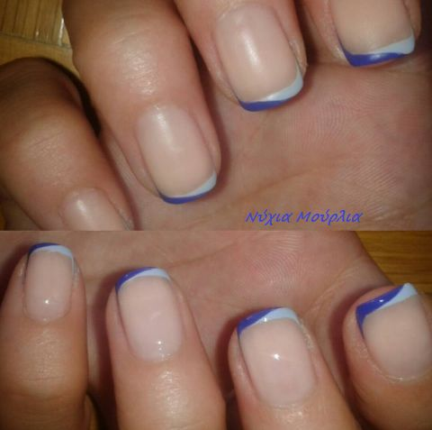 alternative french manicure!