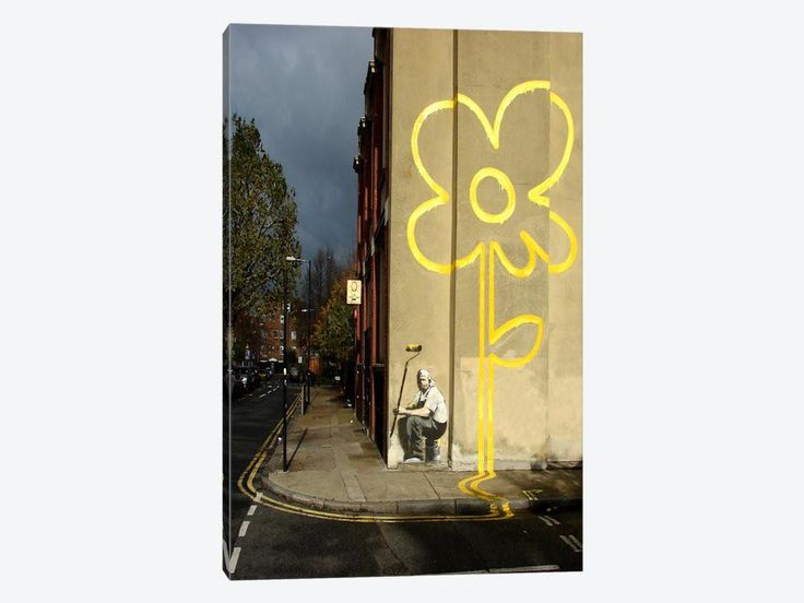 55 best Canvas Wall Art by Banksy images on Pinterest | Banksy, Bay ...