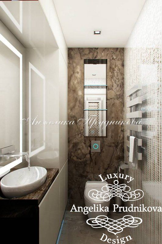 Интерьер квартиры в стиле минимализм в г. Жуковский - фото