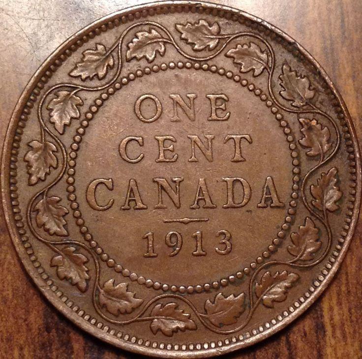 Beautiful 1913 Canadian Large Cent