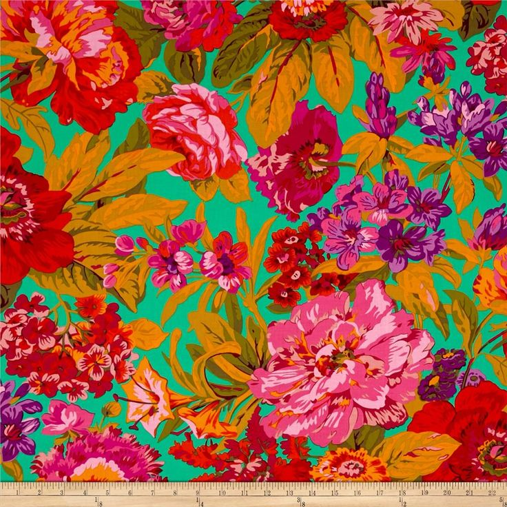Philip Jacobs Voluptuous Green from @fabricdotcom Designed by Philip Jacobs for Free Spirit Fabrics in association with Westminster/Rowan, this cotton print is perfect for Quilting, Apparel, and Home Decor Fabrics. Colors include jade green, shades of pink, orange, olive green, and yellow.