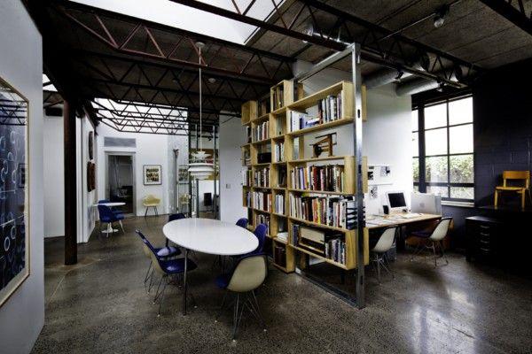 estanteria estructura pladur + madera
