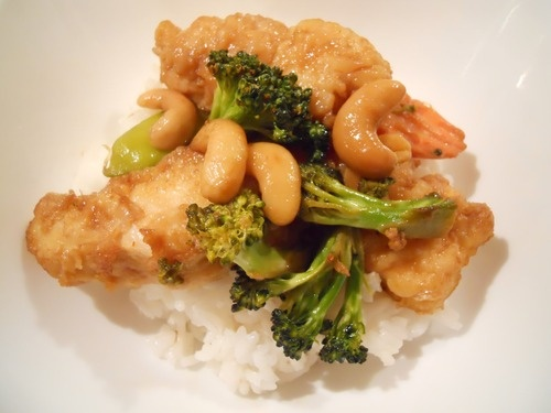 Crispy Cashew Chicken: Beef Recipes, Cashew Chicken, Chicken Recipes, Chicken Stir Fries, Camps Recipes, Asian Food, Yummy Recipes, Crispy Cashew, Healthy Food