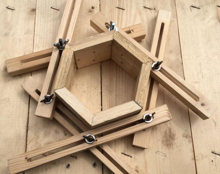 Wood Profits – Tension Aid for Polygons like Triangle, Square, Pentagon …… – Discover How You Can Start Woodworking Business From Home Easily …