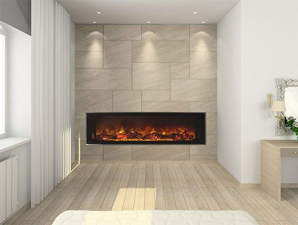 Cool Fireplaces :: Electric Linear Fireplaces, Contemporary Electric Fireplaces