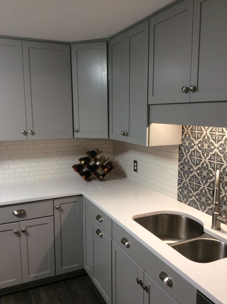 Kitchen Renovation Moroccan Tiles And Subway Tiles With White
