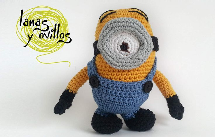 Free Crochet Pattern For Minion Eyes : MINION Lanas y ovillos Craft Ideas Pinterest Free ...