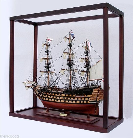 Display Case for Tall Ship
