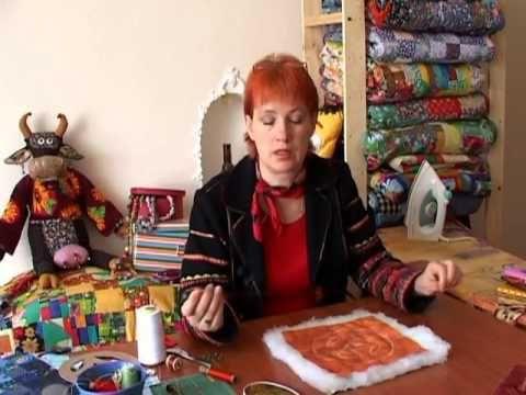Лоскутное шитье для начинающих. Стежка «сашико»
