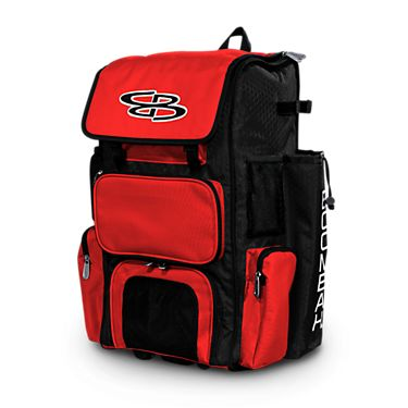 Huntsville Heat team bags - Boombah Rolling Superpack