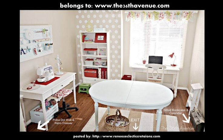 Craft Room Inspiration On Pinterest Craft Rooms Craft Space And