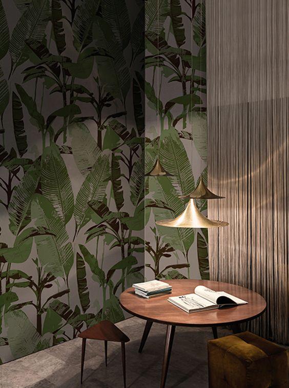 LOST PARADISE #wallcovering #wallpaper #cartadaparati #cartedaparati