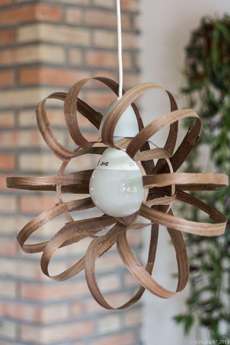 Handmade wooden chandelier. Info: http://handmade-decorating.wix.com/hand