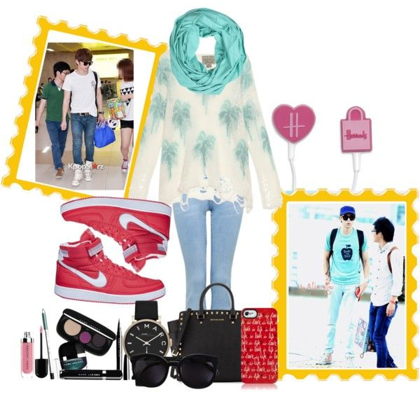 """""""Airport Fashion"""" by pritasafitri on Polyvore"""