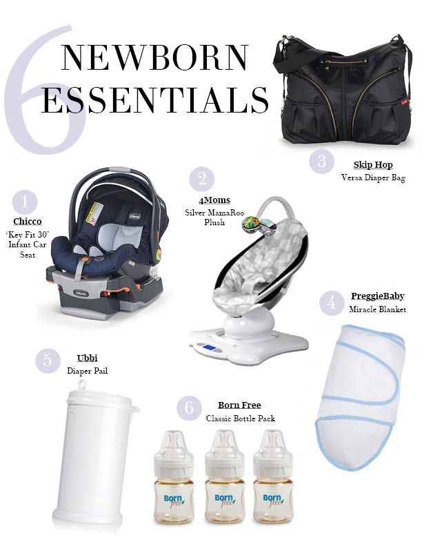 Top must-haves for a newborn and a newborn baby essentials list.
