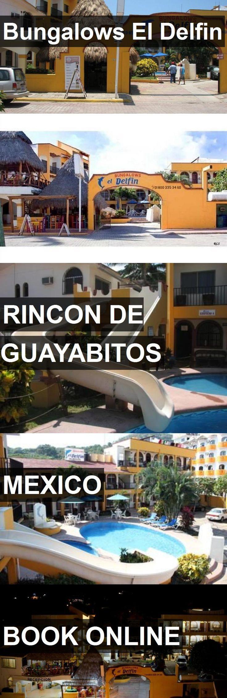 Hotel Bungalows El Delfin in Rincon de Guayabitos, Mexico. For more information, photos, reviews and best prices please follow the link. #Mexico #RincondeGuayabitos #travel #vacation #hotel