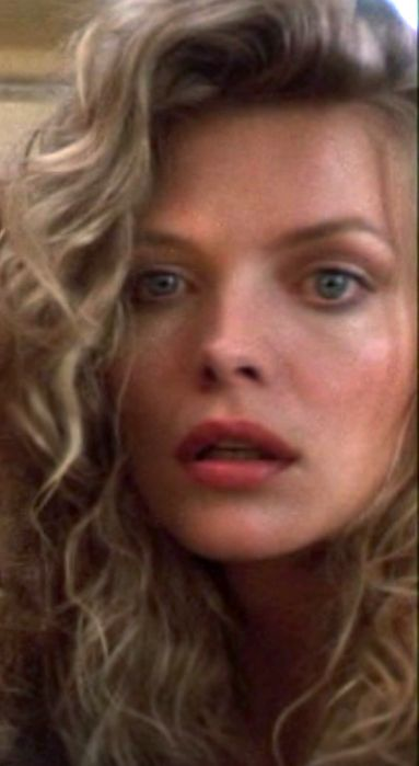 Michelle Pfeiffer in The Witches of Eastwick movie.