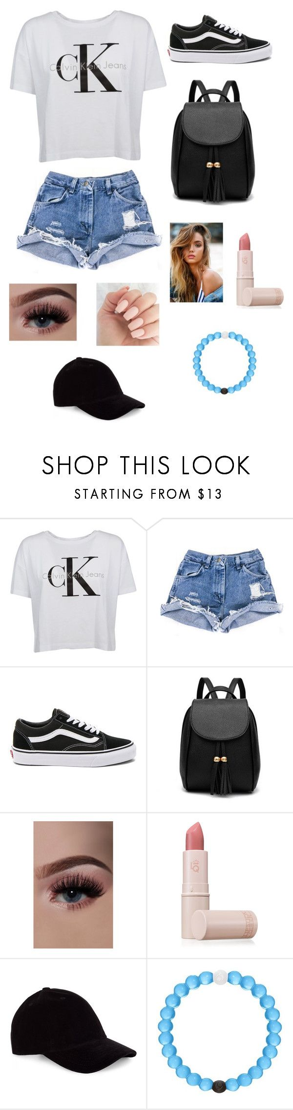 """""""Untitled #39"""" by lemonitadr on Polyvore featuring Calvin Klein, Vans, Lipstick Queen, Le Amonie and Lokai"""