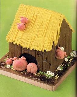 Little Pigs Cake