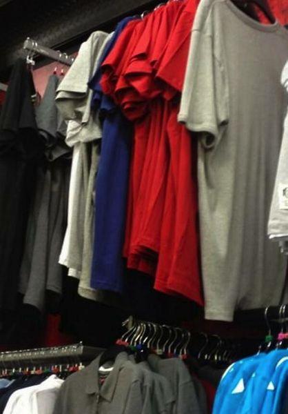 Tシャツ売り場に起きた奇跡・・・