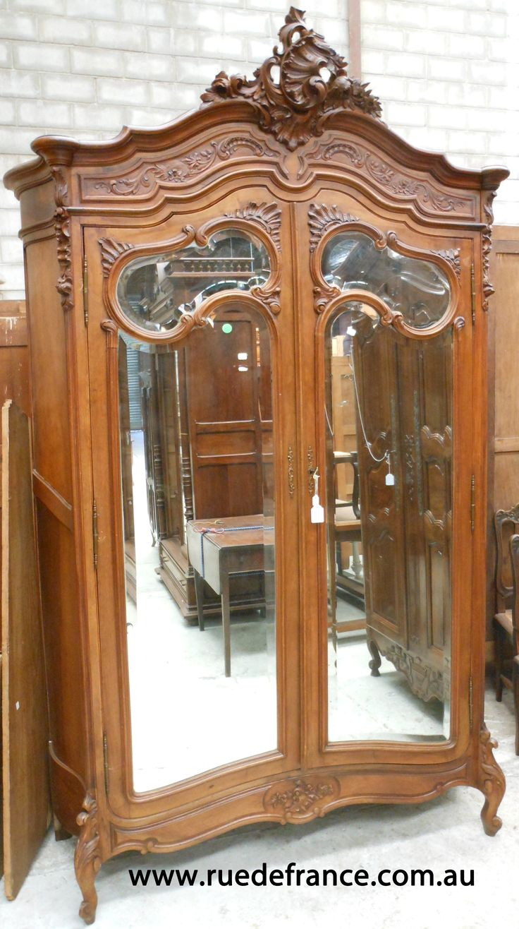 1000 Images About Antique French Armoire Wardrobe On