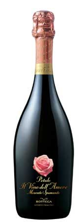 Bottega Petalo Moscato Spumante. Valentine's day is coming. For that special someone PD  mxm