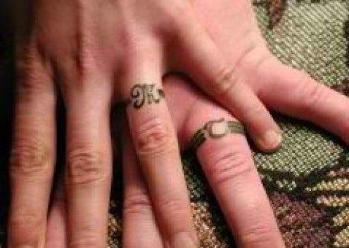 Tattoo Ideas Wedding Ring Finger Tattoos