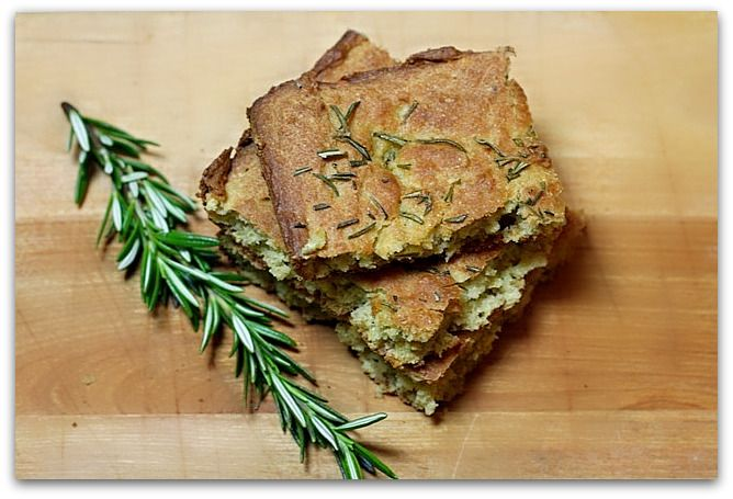 Focaccia Bread - Egg Free, Dairy Free, Gluten Free, Yeast Free
