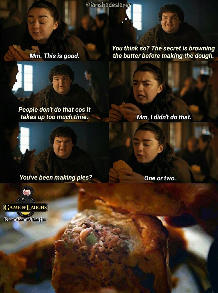 Game of Thrones: Frey pies anyone?