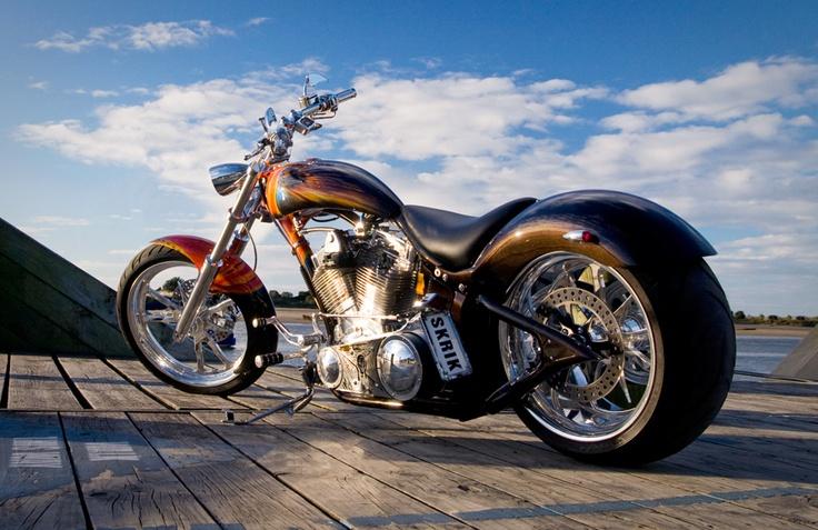 Custom bikes at the Castrol EDGE Custom & Classic Show at CRC Speedshow 2013