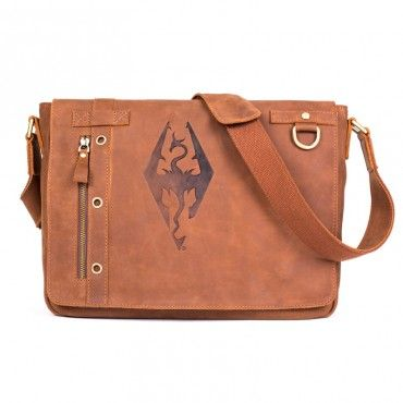 The Bethesda Store - Imperial Dragon Symbol Leather Messenger  Baghttp://store.bethsoft.com/imperial-dragon-symbol-leather-messenger-bag.html
