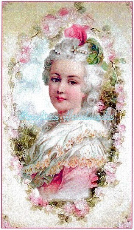 Marie Antoinette  Antoinette was the last Queen of France and one of the more famous victims of the guillotine during the French Revolution. Antoinette was famous for her excess in a time of extreme economic hardship for her country. Date: 1769.