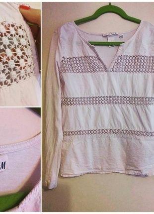 Kup mój przedmiot na #vintedpl http://www.vinted.pl/damska-odziez/bluzki-z-dlugimi-rekawami/12105458-bluzka-pudrowy-roz-marki-hm-rozmiar-3638