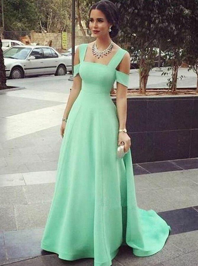 elegant cold shoulder blue evening gowns, fashion formal