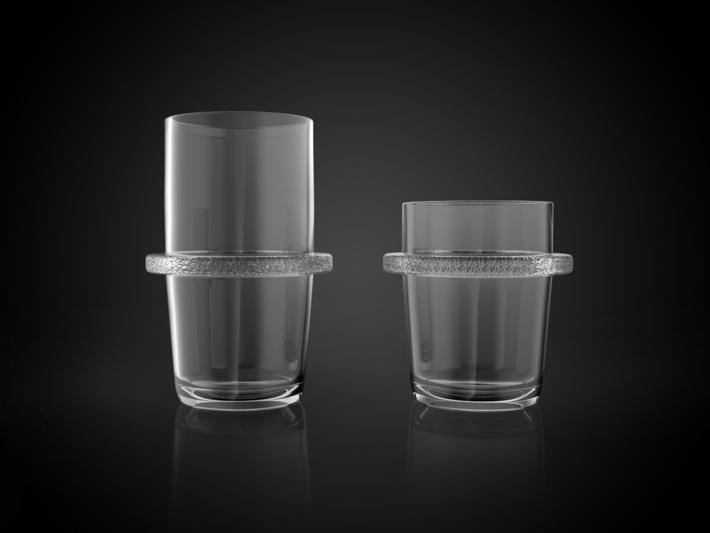 Bedla Glass by David NEVARIL, via Behance