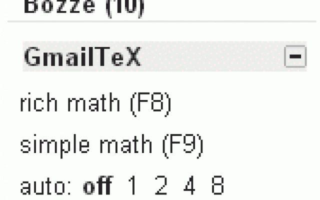 Come inserire formule matematiche in una email