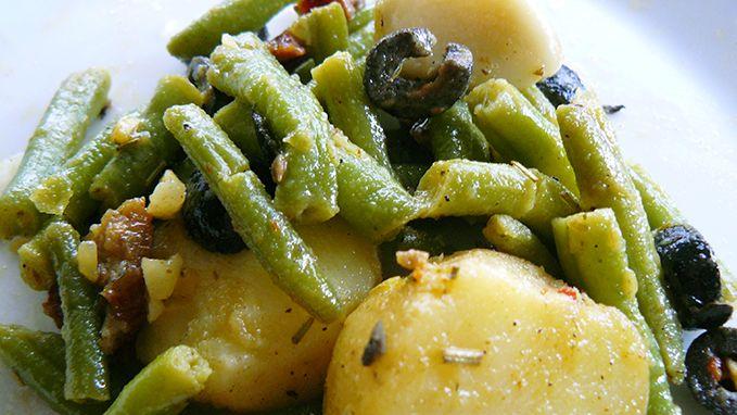Franse maaltijdsalade met sperziebonen | Veggie Variation