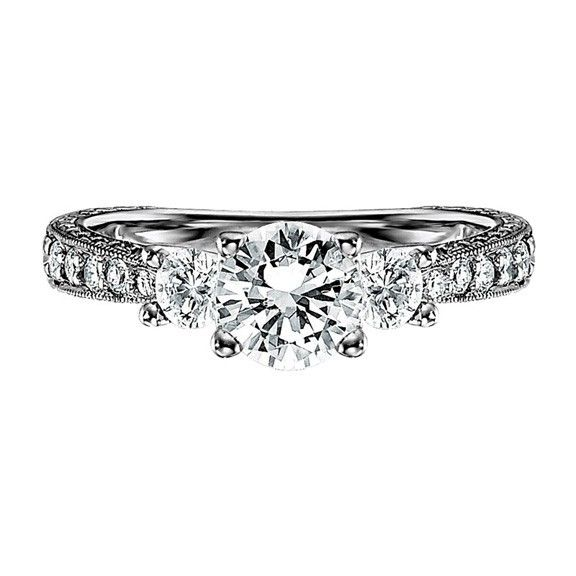 Simple but elegant engagement ring Wedding stuffies 3 Pinterest