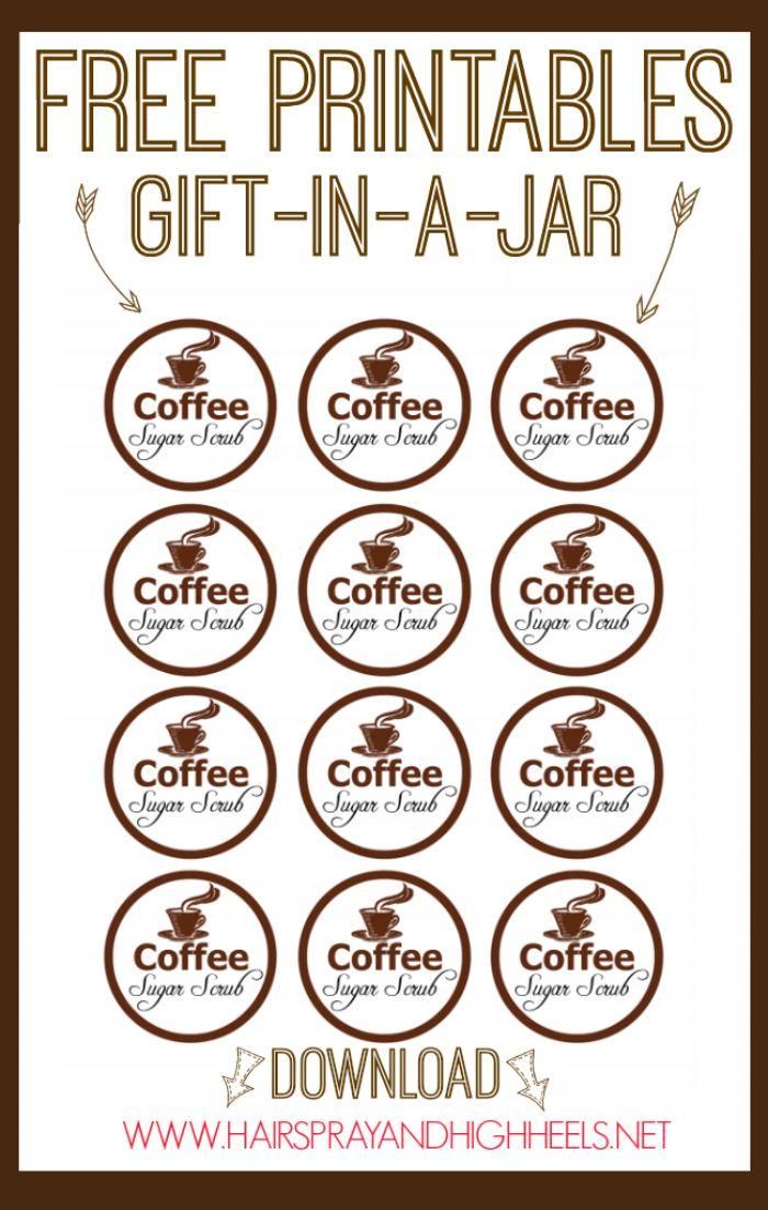 DIY Coffee Sugar Scrub via www.hairsprayandhighheels.com