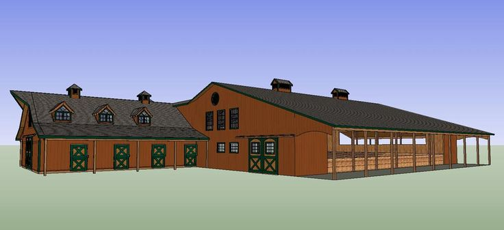 17 Best Images About Pole Barn Homes House Plans On