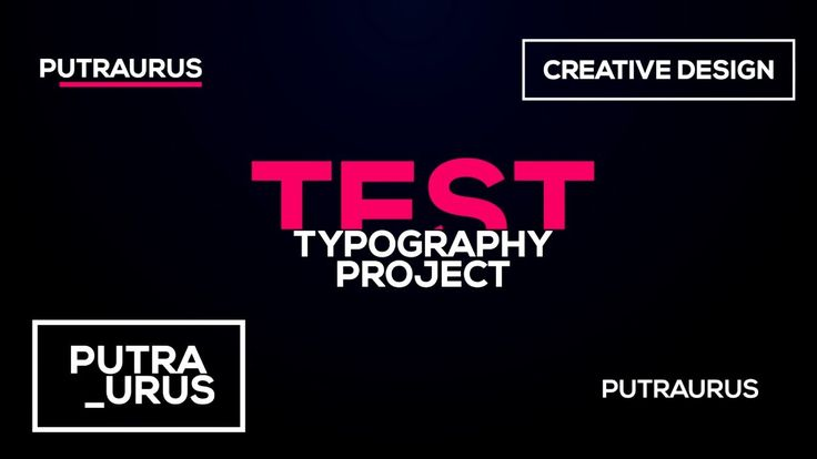 After Effects Free Project : TypoGraphy Summit 1