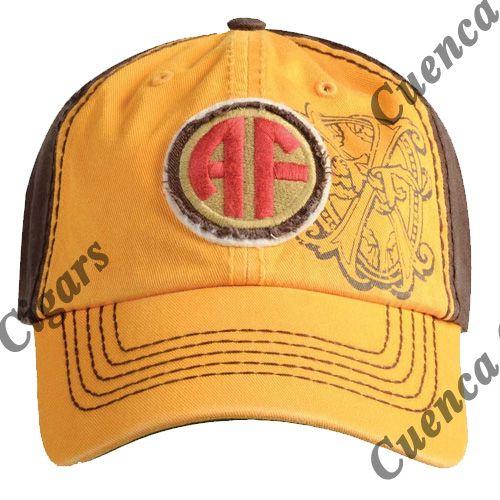 Shop Now Arturo Fuente AF Opus X Logo Baseball Hat - Gold and Brown | Cuenca Cigars  Sales Price:  $24.99