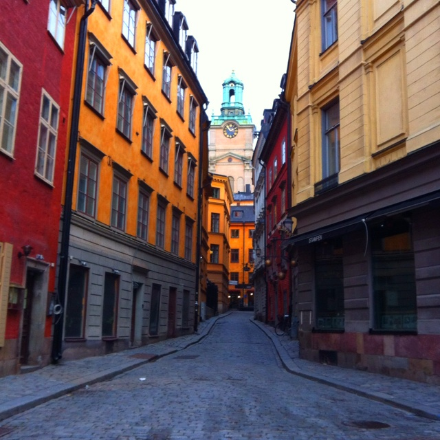 Gamla Stan. Stockholm.
