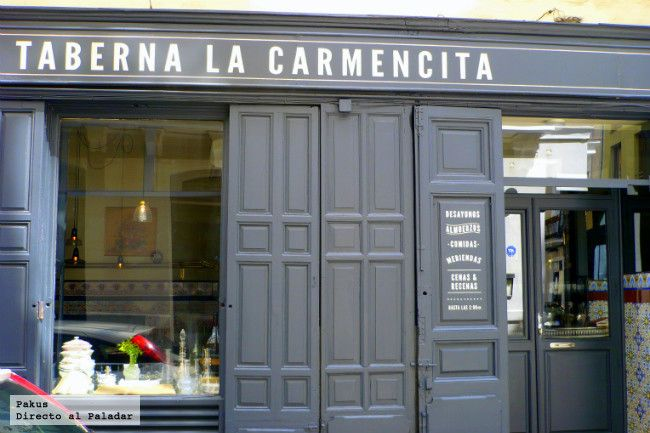 Taberna la Carmencita - 2nd oldest restaurant in Madrid. started in the 1800's visited by Neruda and Picasso.  TL Dec 2014