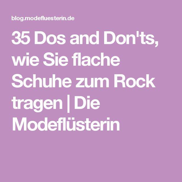 35 Dos and Don'ts, wie Sie flache Schuhe zum Rock tragen | Die Modeflüsterin