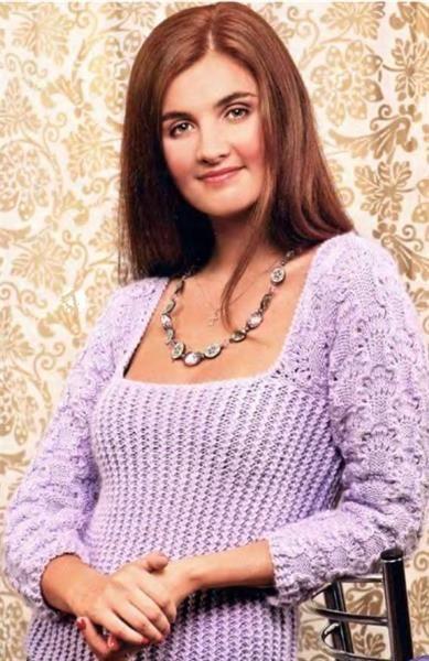 Необычные вязаные свитера для женщин